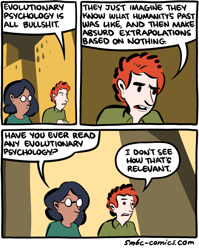 an analysis of evollutionary psychology Psychology: psychology  of evolutionary theory,  began in the final decades of the 20th century transformed research on methods of data analysis in psychology.
