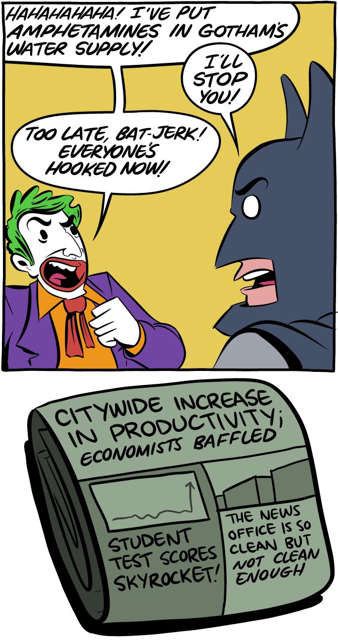 Reddit Tap Smbc Comics Saturday Morning Breakfast Cereal The Joker
