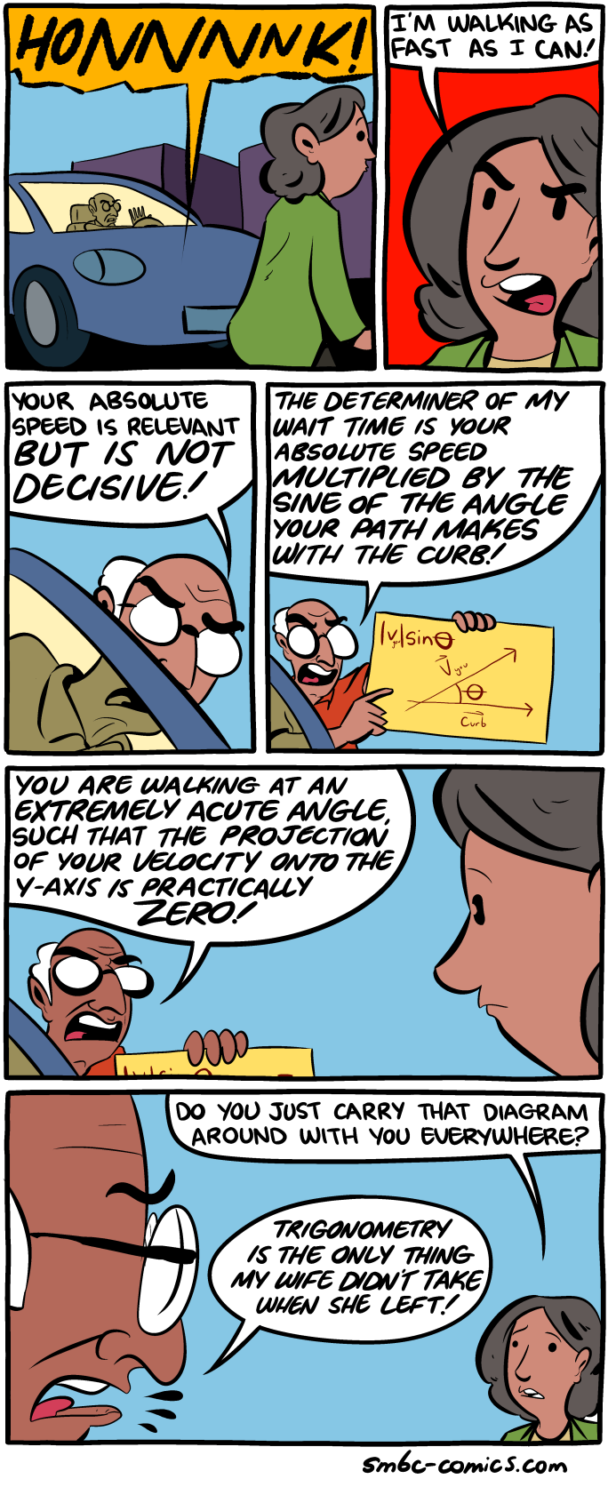 SMBC: I would be more open to your critique if it were expressed in radians.