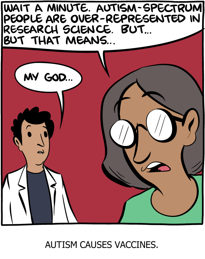 Saturday Morning Breakfast Cereal - Autism and Vaccines