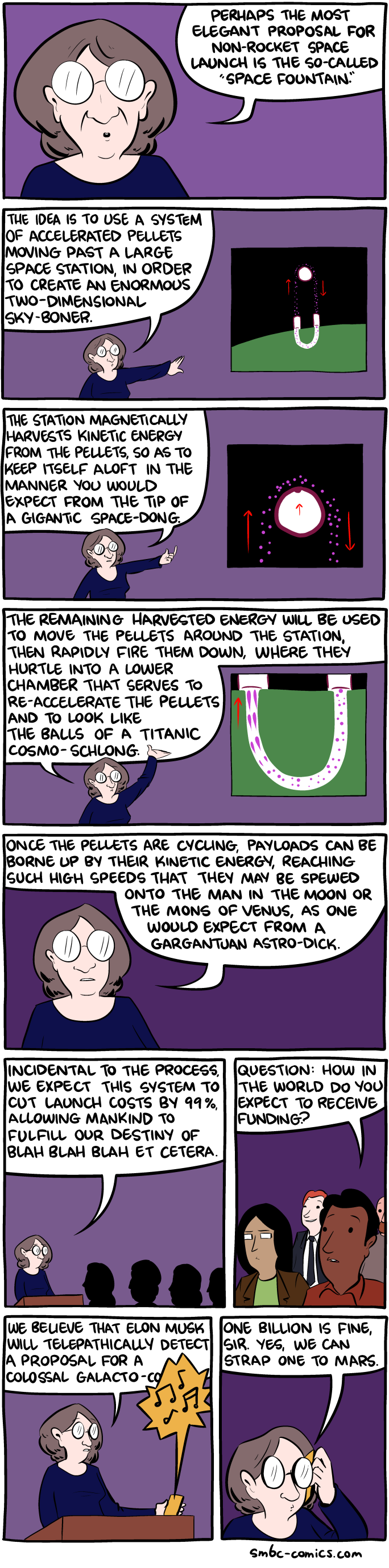 Saturday Morning Breakfast Cereal - The Space Fountain