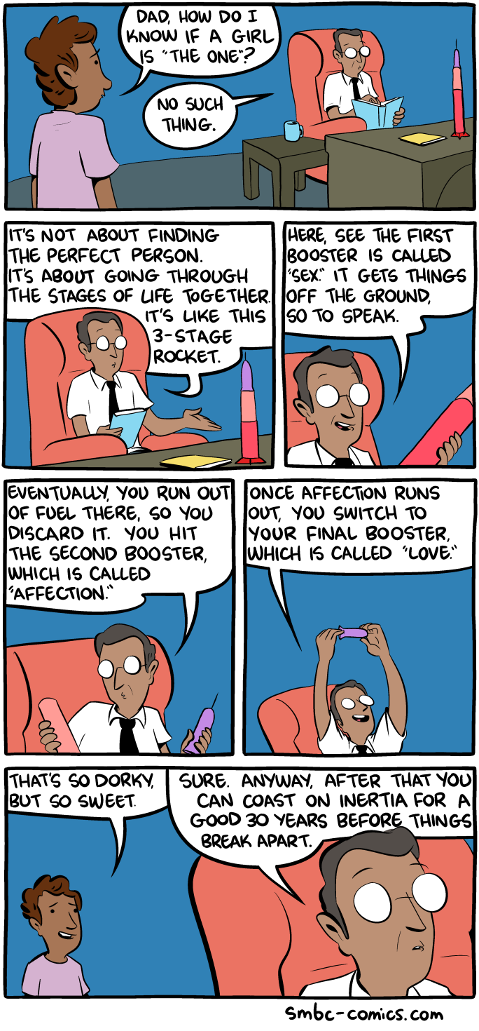 Saturday Morning Breakfast Cereal - Love and Rockets