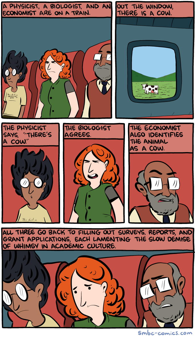 saturday morning breakfast cereal a physicist chemist and an