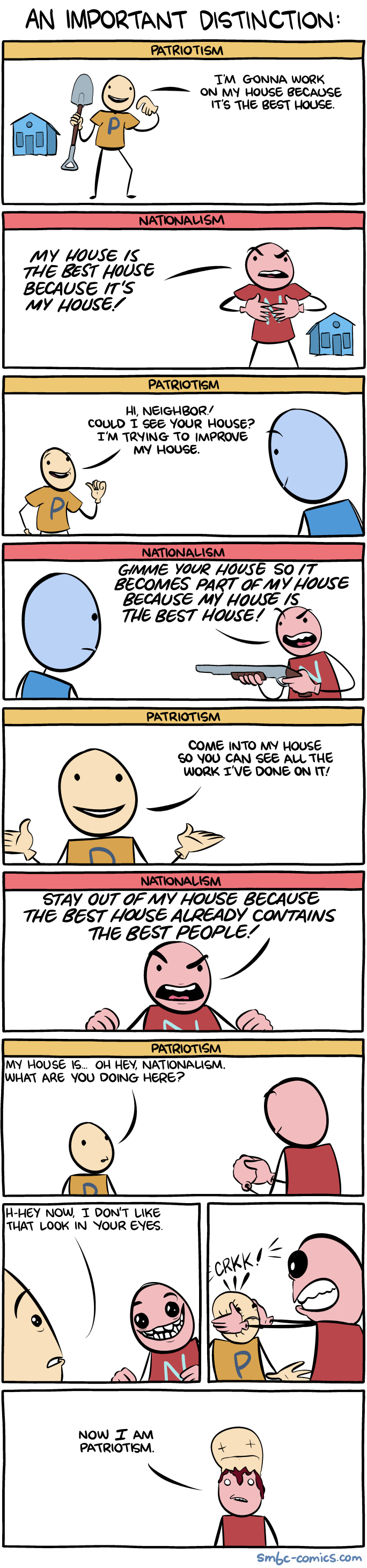 Saturday Morning Breakfast Cereal - An Important Distinction
