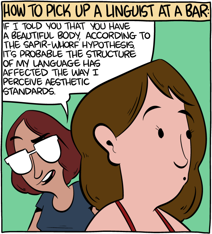 saturday morning breakfast cereal how to pick up a linguist