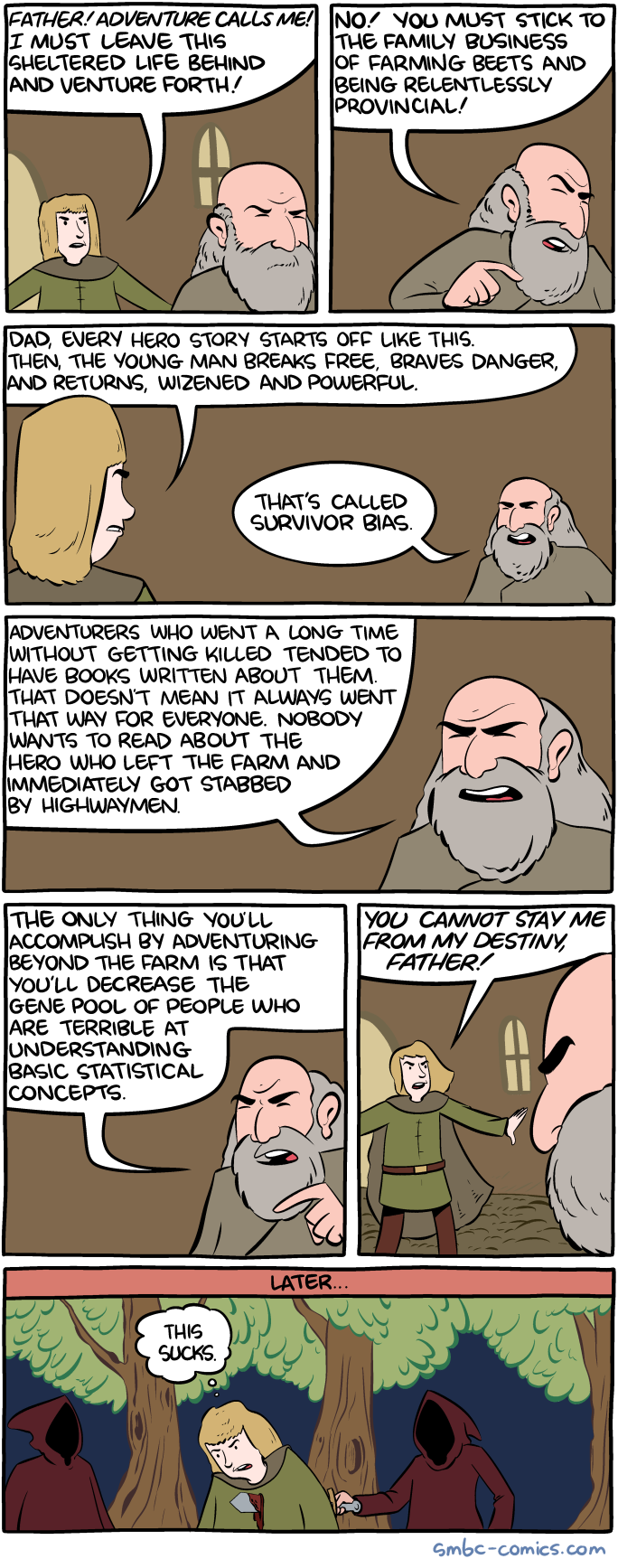 SMBC - Survivor bias