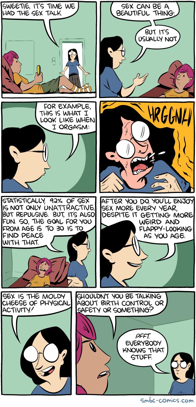 Zeichentrickbild Sex