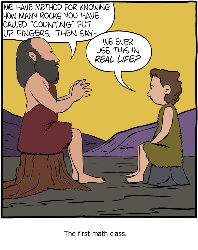Saturday Morning Breakfast Cereal - A New Method