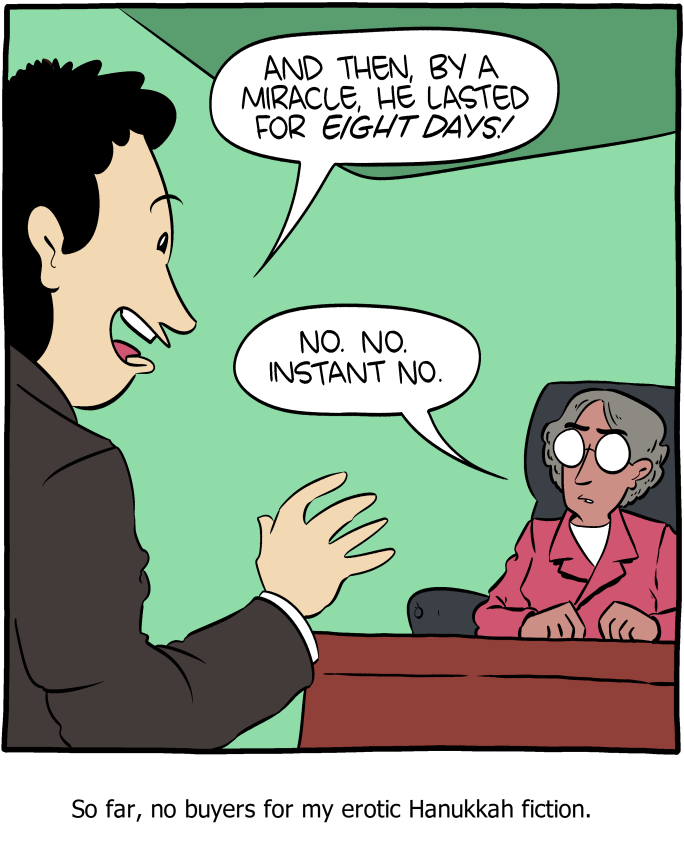 Saturday Morning Breakfast Cereal - 8 Nights