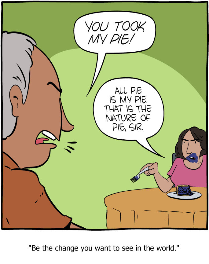 Saturday Morning Breakfast Cereal - Pie