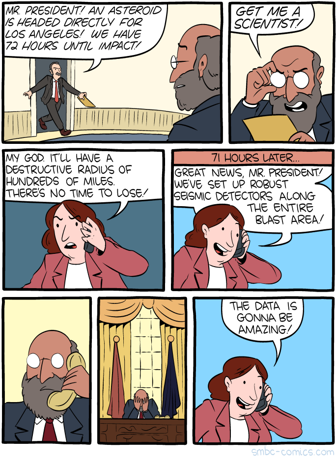 Saturday Morning Breakfast Cereal - Get Me a Scientist