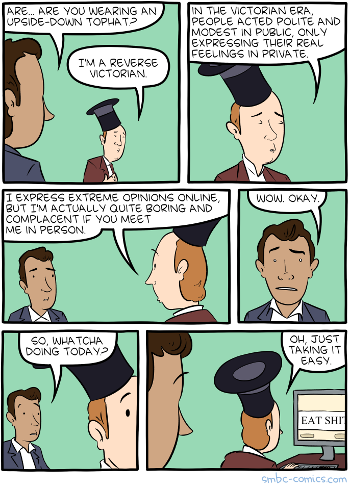 Saturday Morning Breakfast Cereal - Reverse Victorianism