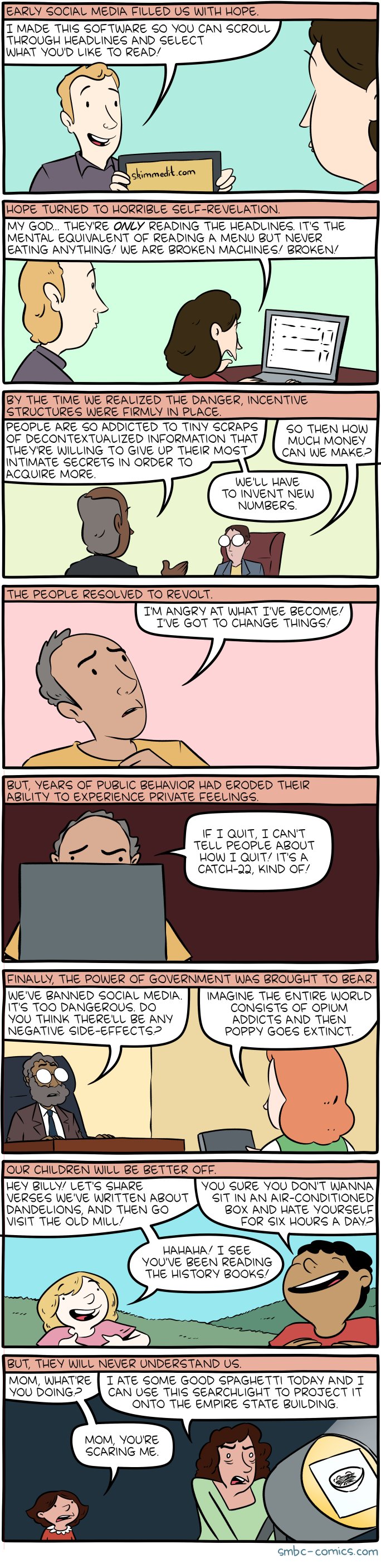 Saturday Morning Breakfast Cereal - Skimmed