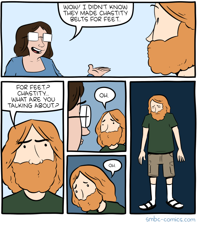 Saturday Morning Breakfast Cereal - Chastity