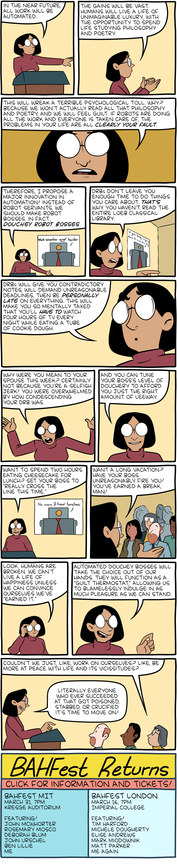 Saturday Morning Breakfast Cereal - BAH