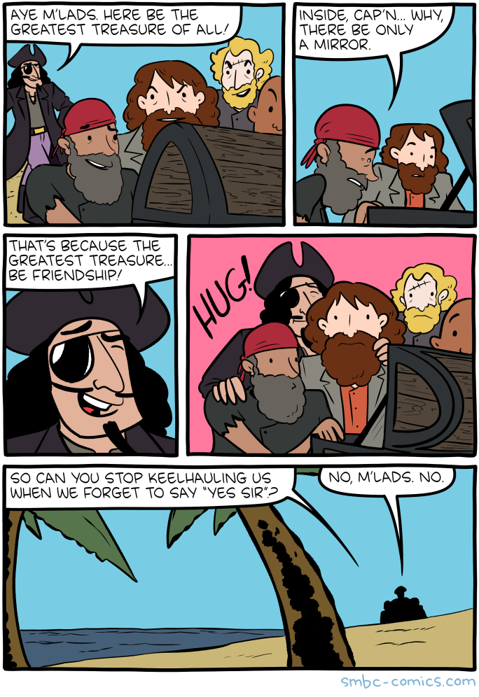 Saturday Morning Breakfast Cereal - Treasure