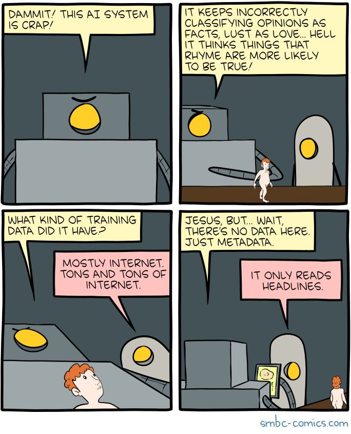 Saturday Morning Breakfast Cereal - AI