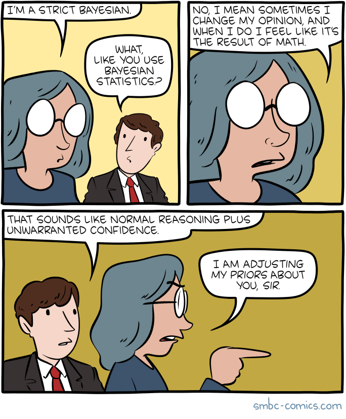 Saturday Morning Breakfast Cereal - Bayesian